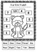 Winter Math  Numbers to 10 / Recognise Numbers to Ten, Wor
