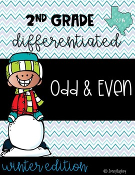 Winter Math Odd and Even Differentiated - 2.7A