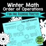 Winter Math Order of Operations