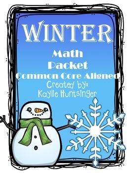 Winter Math Pack