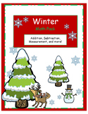 Winter Math Pack-Kindergarten- In English