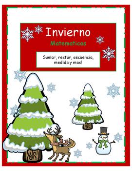 Winter Math Pack- SPANISH-