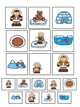 Winter Math Pack for Special Education: