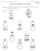 Winter Math Packet for First Grade