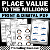 Place Value Expanded Form, Winter Math Activities, Place Value Worksheets