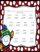 Winter Math Practice - Multiplication, Addition, and Subtraction