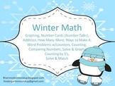 Winter Math PreK - 1st