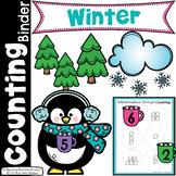 Winter Math - Preschool