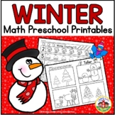 Winter Math Preschool Printables