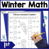First Grade Winter Math Worksheets