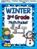 Winter Printables (3rd Grade)