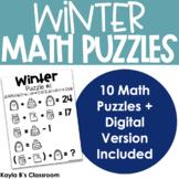 Winter Math Puzzles