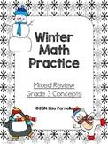 Winter Math Review Grade 3
