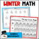 WINTER Worksheets for MATH