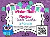 Winter Math Review QR Codes