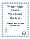 Winter Math Review Task Cards