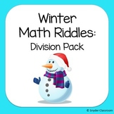 Winter Long Division Math Riddles