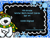 Winter Math Scoot Cards Set 4
