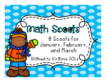 Winter Math Scoots