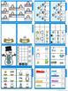 Winter Math Skills File Folder Tasks (25 Tasks Included)