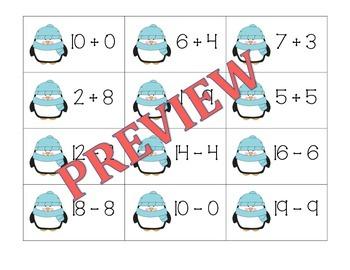 Winter Math Sort