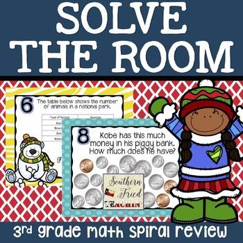 Winter Math Spiral Review