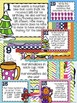 Winter Math Spiral Review - Solve the Room 3rd Grade