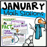 January Math Stations {12 Activities}