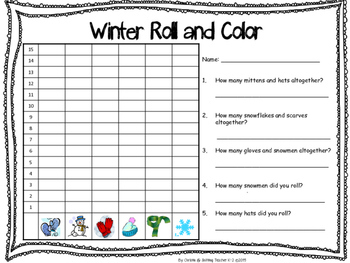 Winter Math Stations