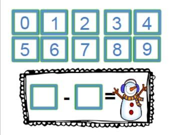 Winter Math Stories