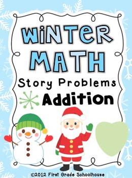 Winter Math Addition Word Problems