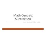 Subtraction Centres & Winter theme Practice Booklet