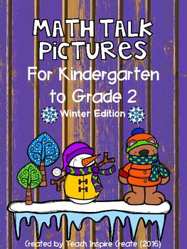 Winter Math Talk Pictures
