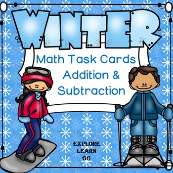 Winter Subtraction Facts To 20 Teaching Resources | Teachers Pay ...