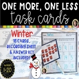 One More, One Less - Winter Math Center ~ SCOOT Task Cards