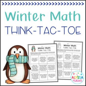Winter Math Think-Tac-Toe