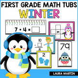 Winter Math Centers - First Grade
