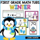 Winter Math Centers | First Grade