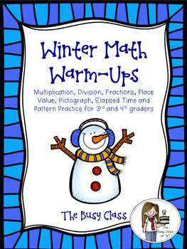 Winter Math Warm-Ups (3rd-4th)