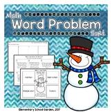 Winter Math Word Problem Sort: Multiplication, Division, A