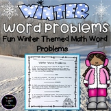 Winter Math Word Problem Worksheets