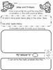 Winter Math Word Problems Kindergarten and First Grade