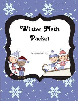 Winter Math Work