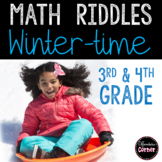 Winter Math Worksheets #2