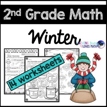 Winter Math Worksheets 2nd Grade Common Core By Teaching Buddy Loves