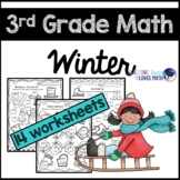 Winter Math Worksheets 3rd Grade