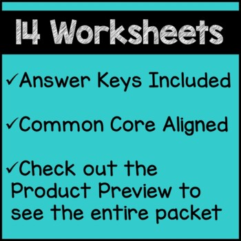 Winter Math Worksheets 5th Grade Common Core