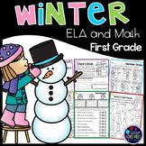Winter Activities for First Grade | January Activities First Grade