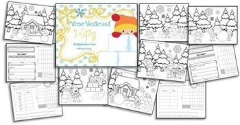 Winter Math Workstation BUNDLE ~ Math Fact Fluency ~