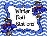Winter Math Workstations
